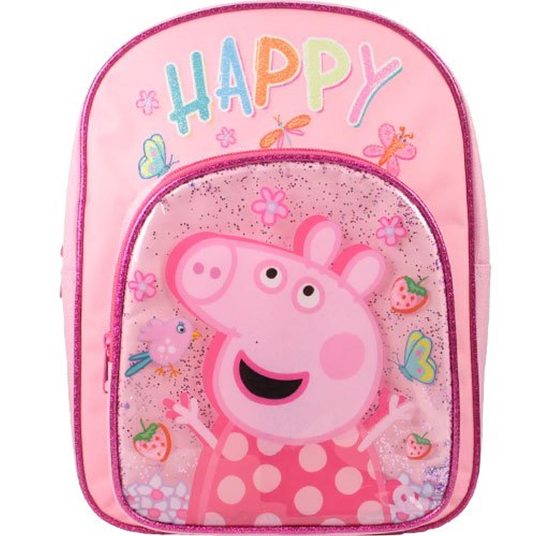 Peppa Pig Beautiful Arch School Bag Rucksack Backpack