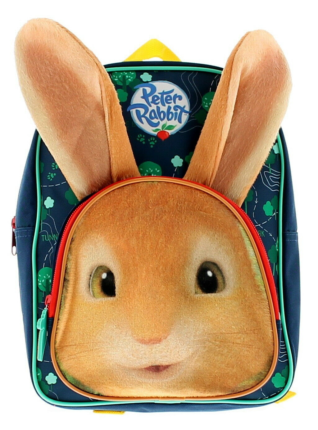 Peter Rabbit 3d Ears Kids School Bag Rucksack Backpack