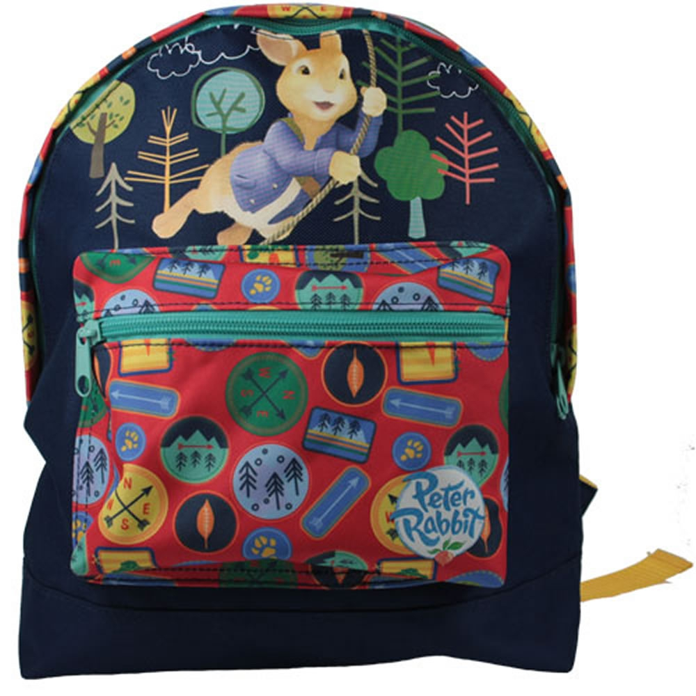 Peter Rabbit Badge Collector Mini Roxy School Bag Rucksack Backpack