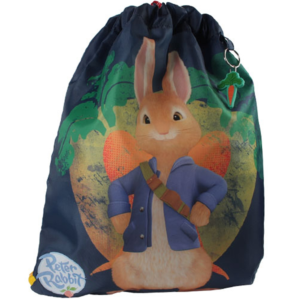 Peter Rabbit Drawstring School Pe Gym Trainer Bag