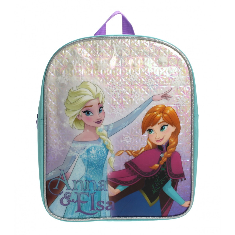 Disney Frozen Snowflake Anna & Elsa School Bag Rucksack Backpack