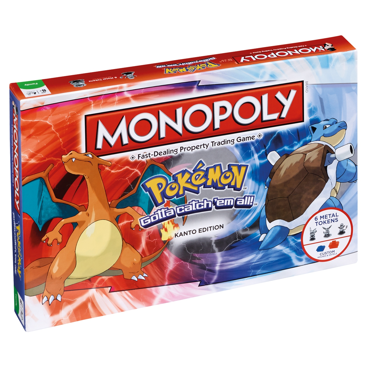 Pokemon Go Kanto Region Edition Board Game