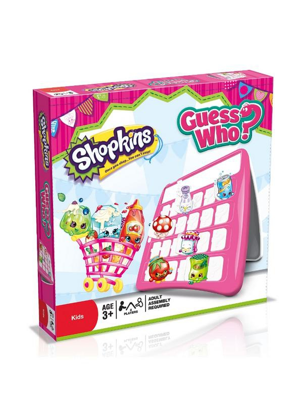 Shopkins Guess Who Board Game Puzzle