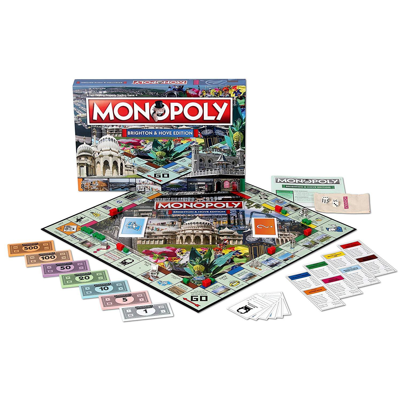 Brighton & Hove Monopoly Board Game