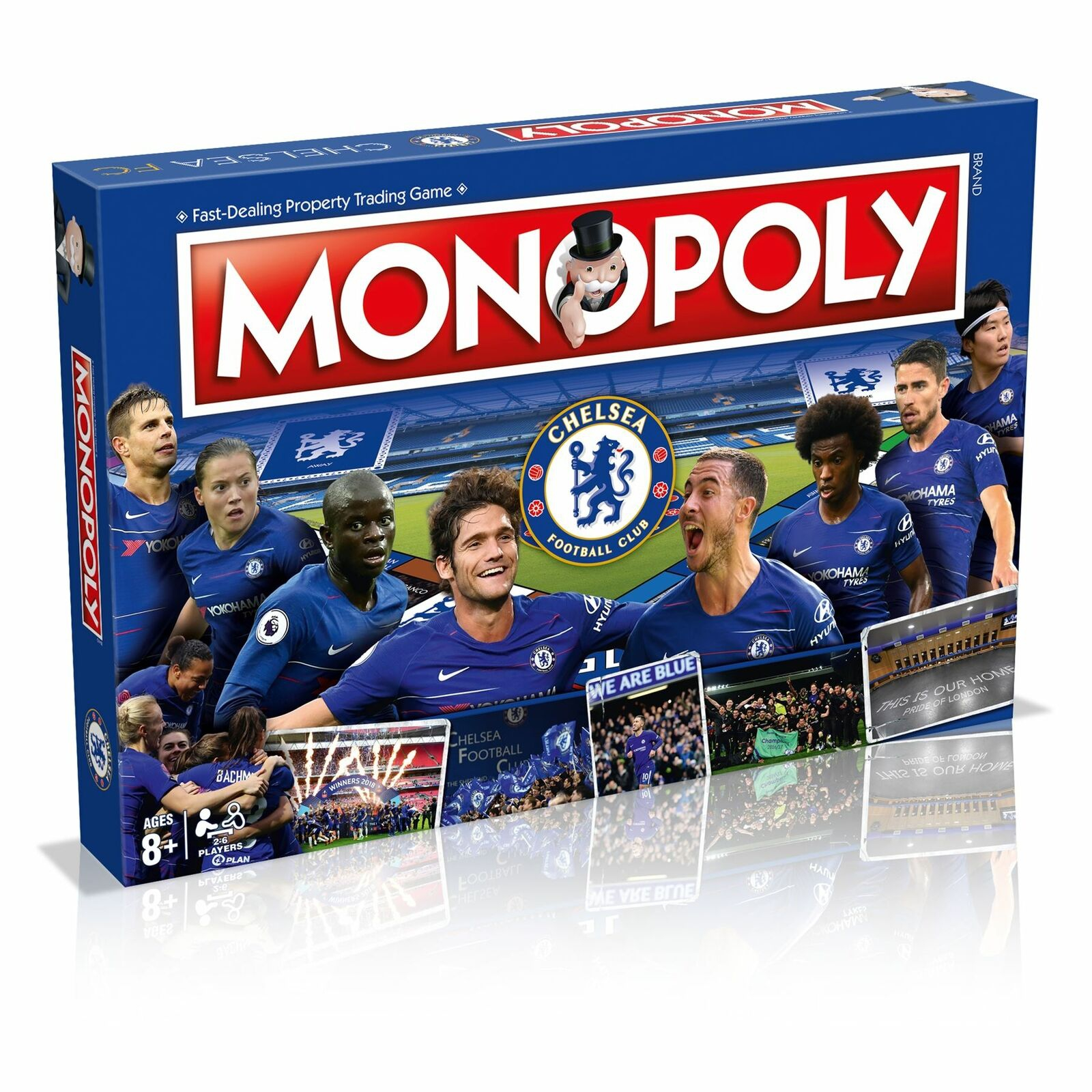 Chelsea Fc Monopoly Football Board Game Official