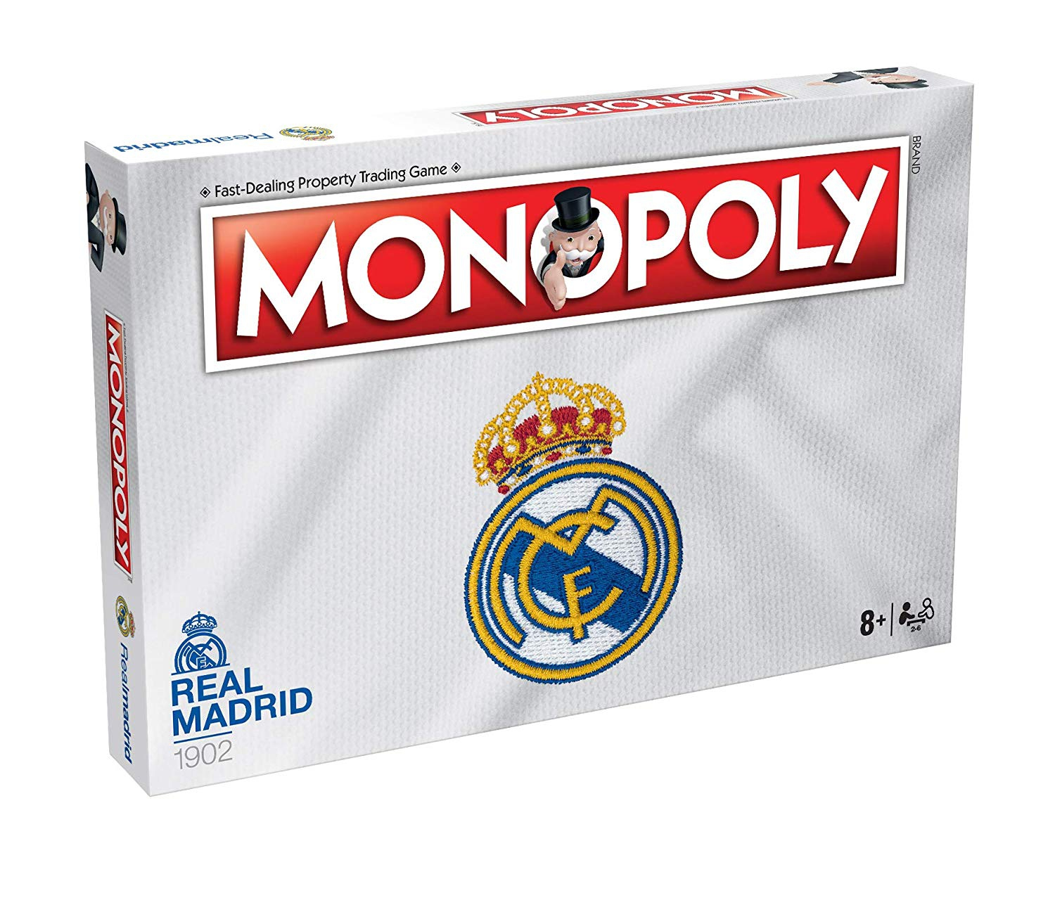 Real Madrid Monopoly Fc Football Board Game Official