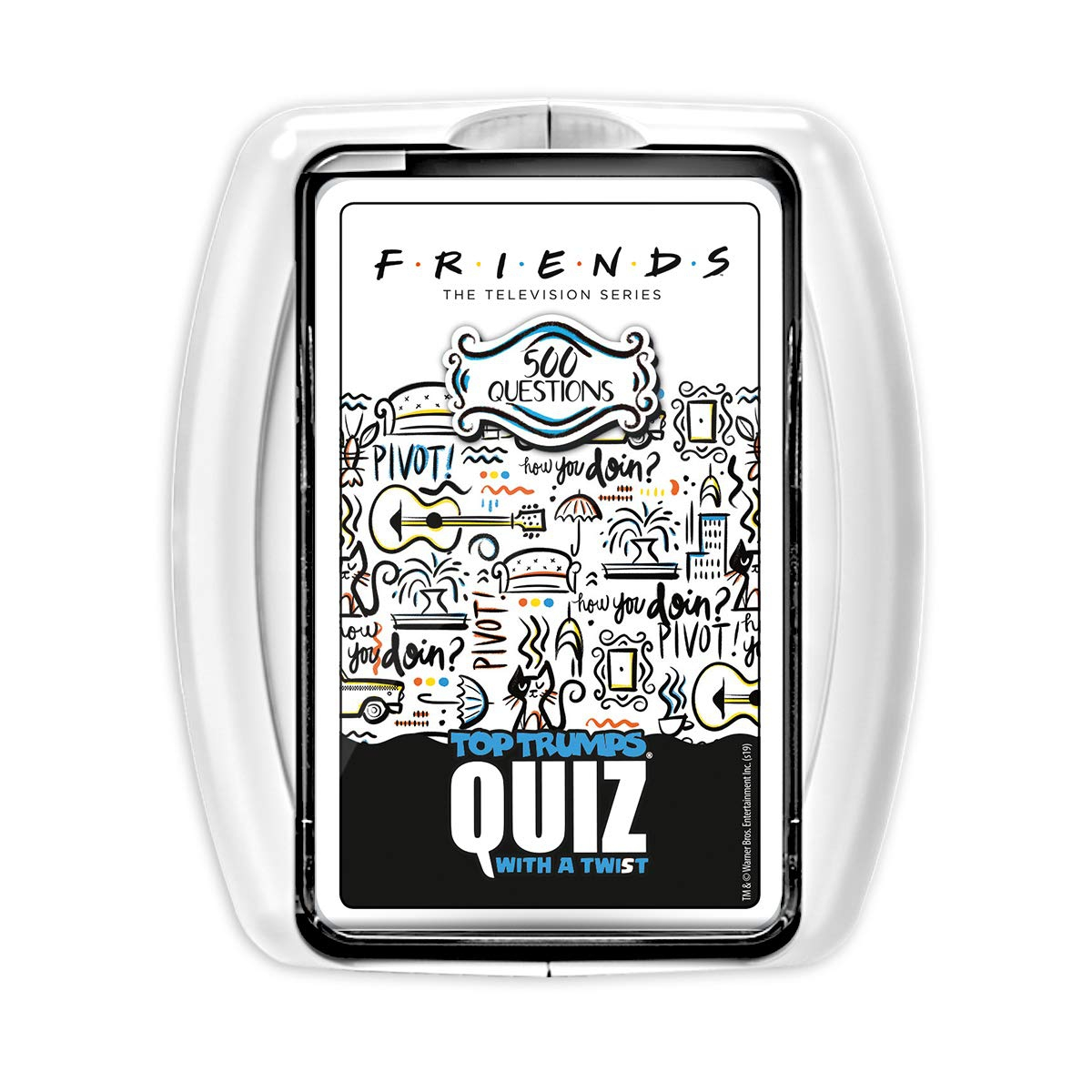 Top Trumps Friends Quiz Card Game