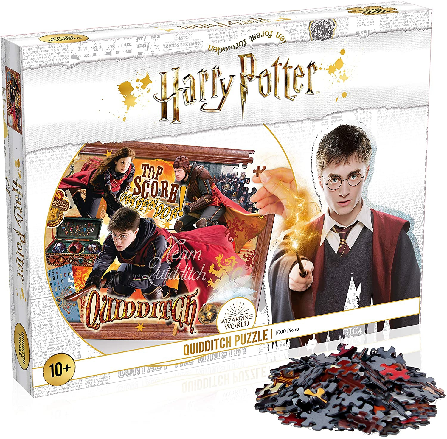 Harry Potter-hogwarts 1000 Piece Jigsaw Puzzle Game