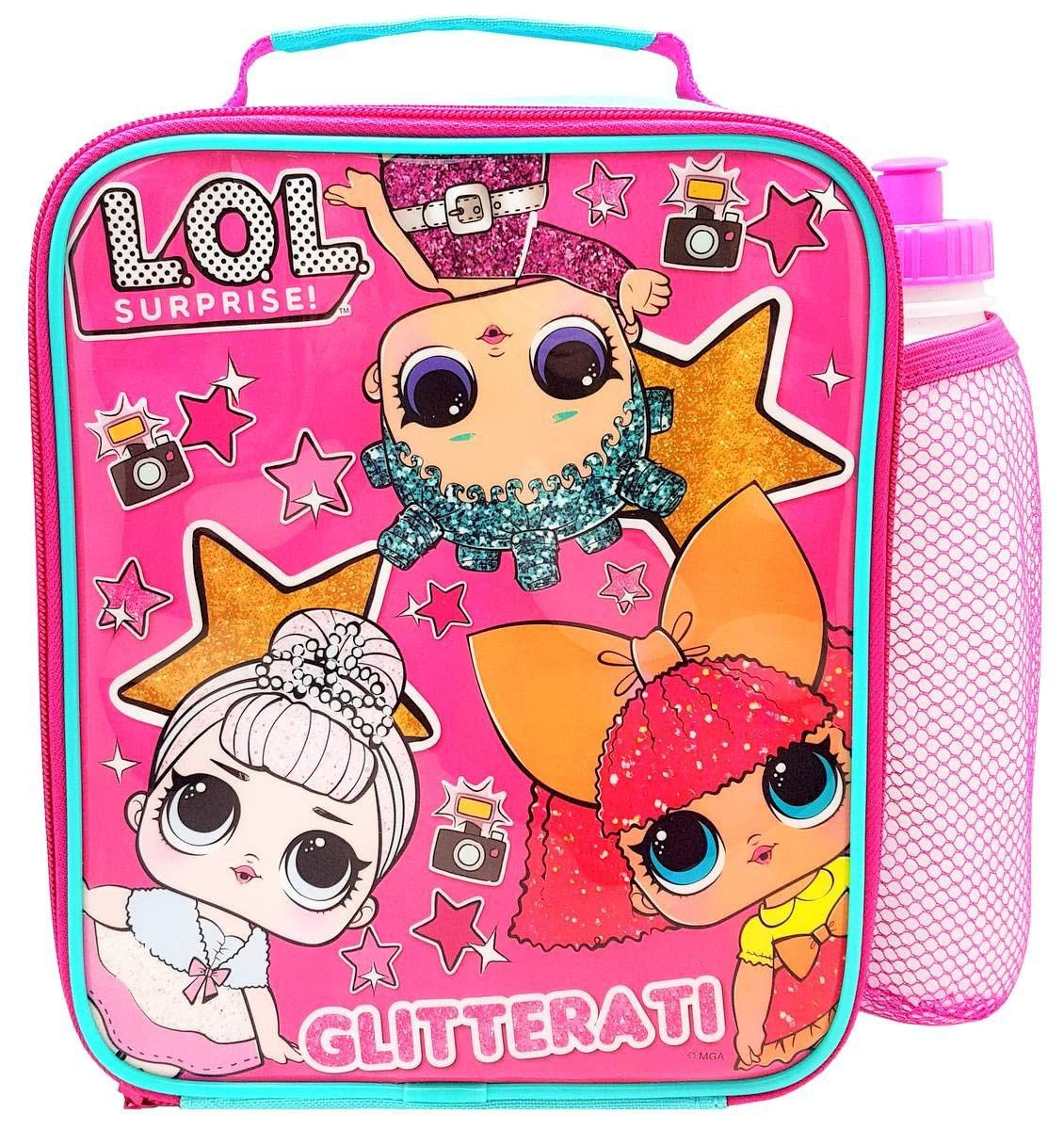 Lol Suprise Lunch Bag & Bottle Combo Box and Set