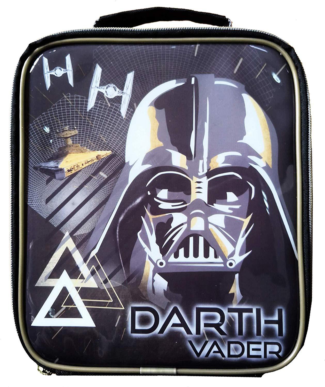 Star Wars Black Vertical Lunch Box Bag