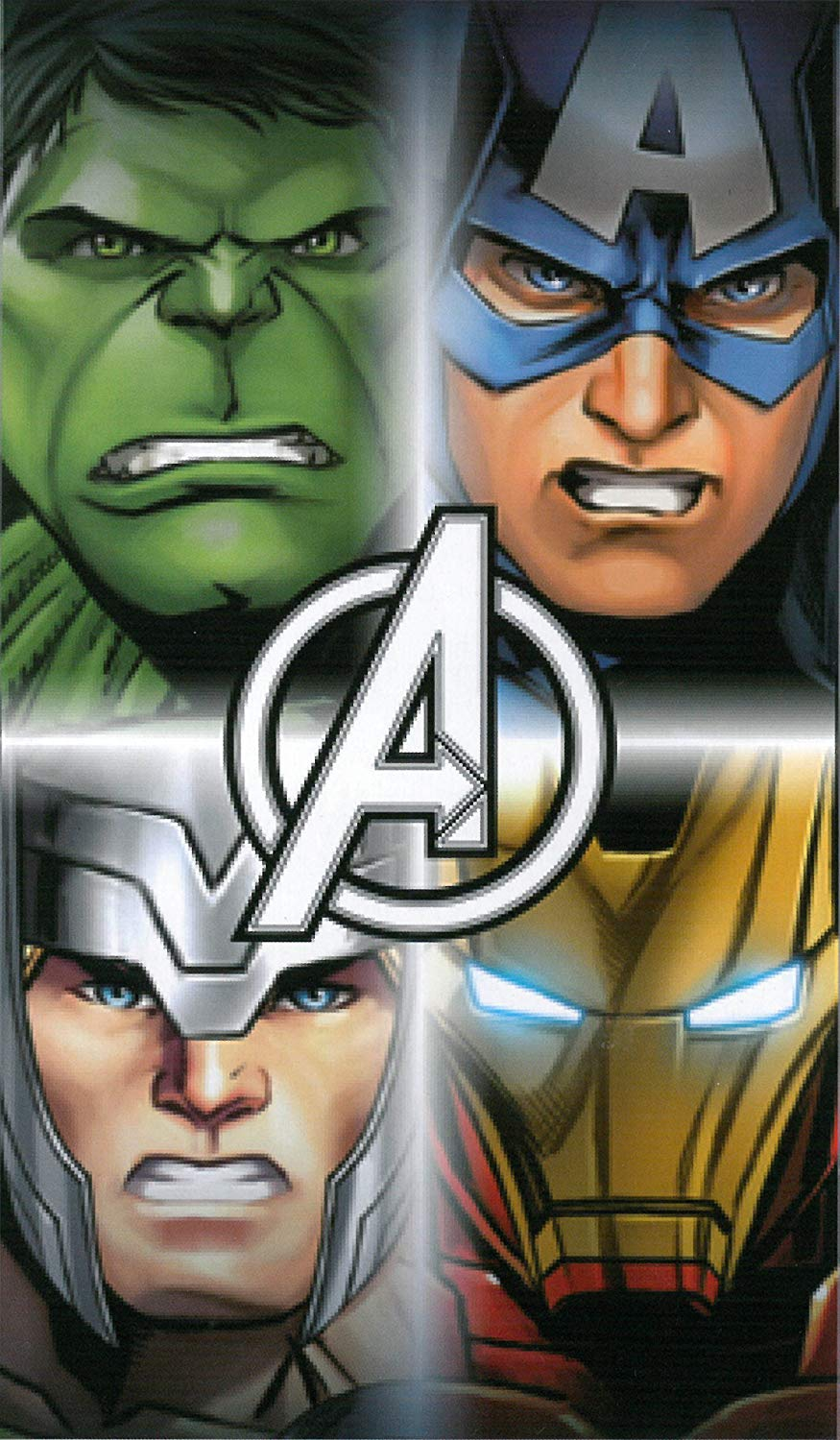 Marvel Avengers Printed Beach Towel