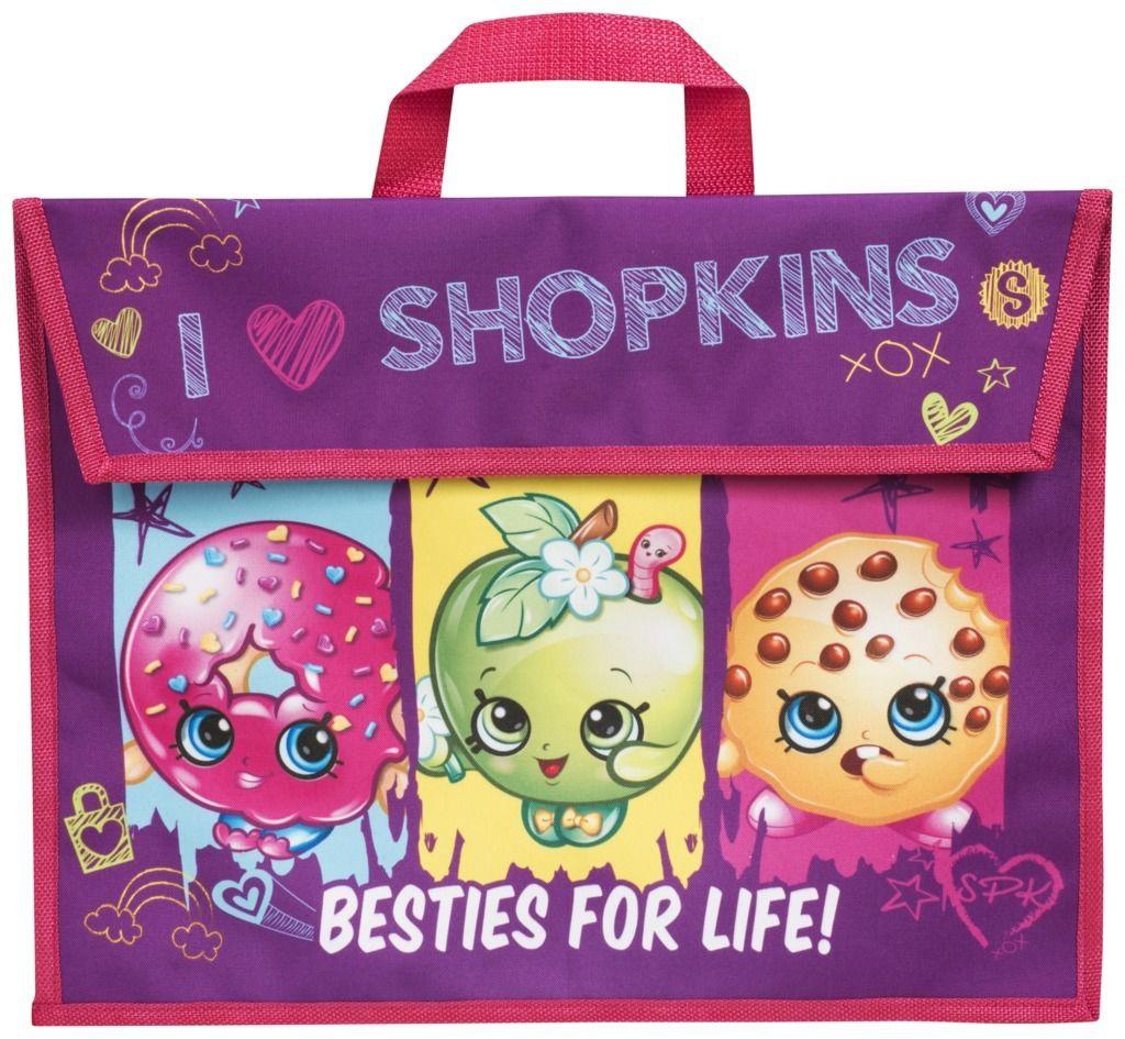 Shopkins 'Besties For Life' School Book Bag