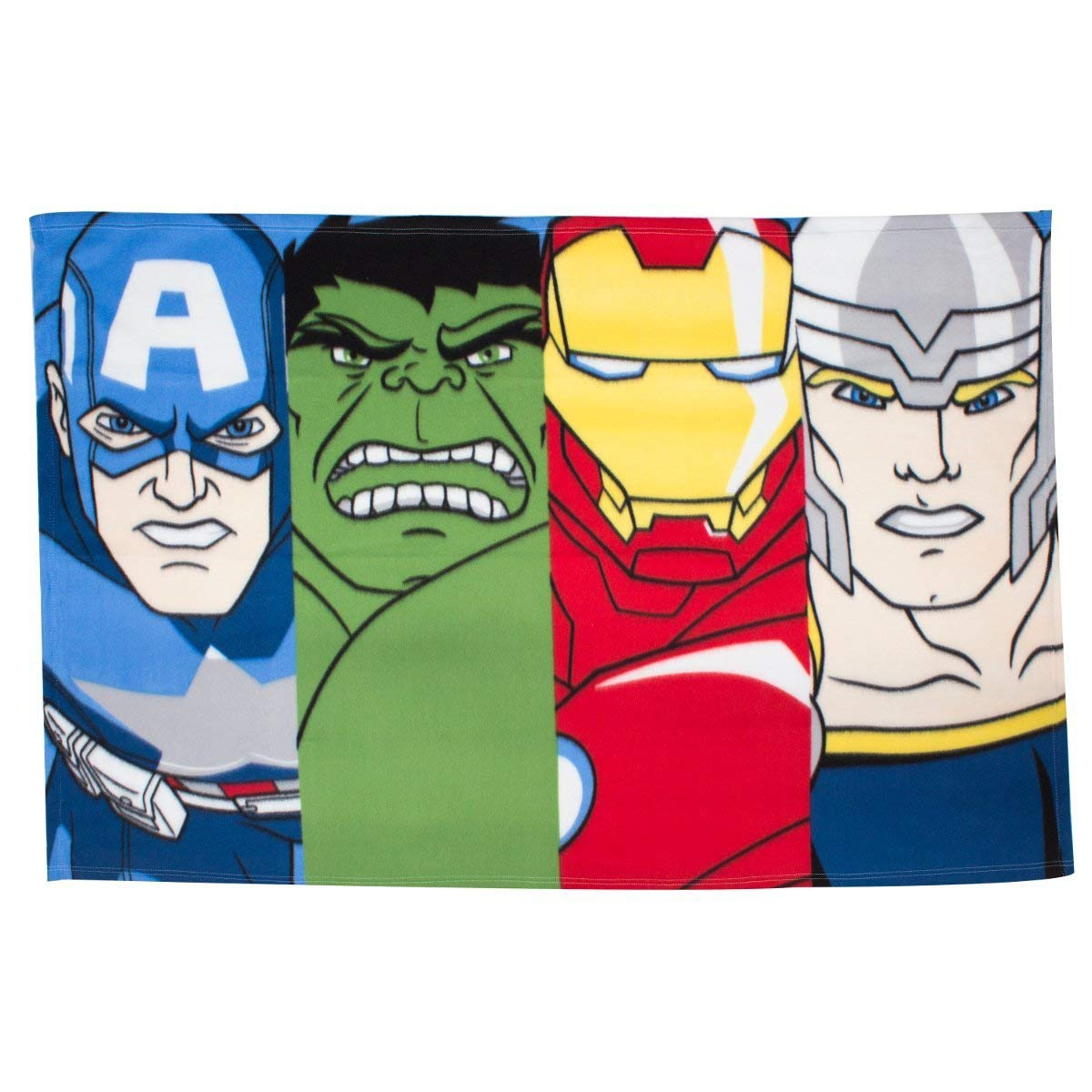 Marvel Avengers Panel Fleece Blanket Throw