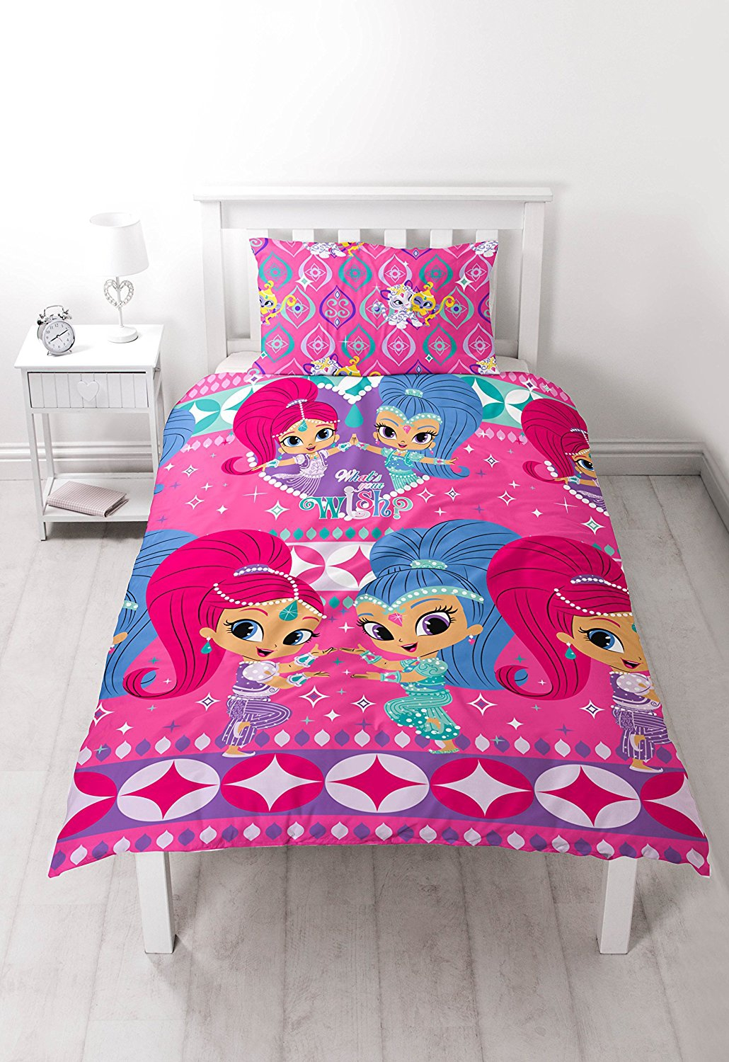 Bed Set Of Shimmer And Shine