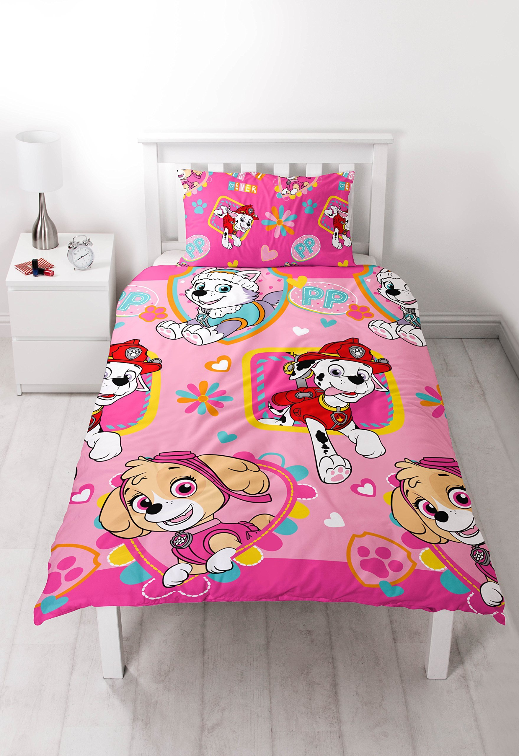 Childrens Characters Single Bed Quilt Duvet Cover