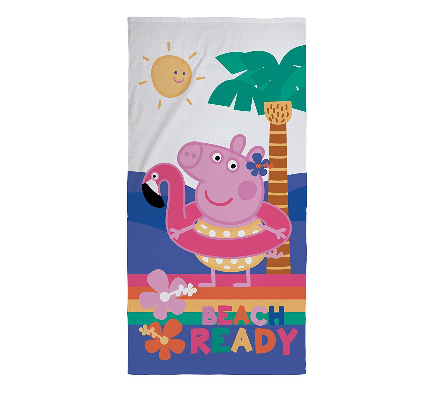 Peppa Pig Hooray Printed Beach Towel