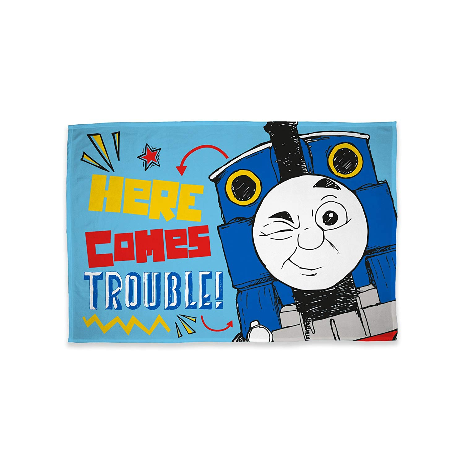Thomas The Tank Engine Panel Fleece Blanket Throw
