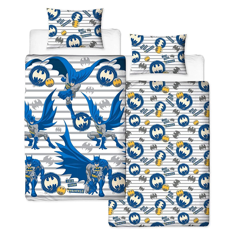Batman Trouble Rotary Single Bed Duvet Quilt Cover Set
