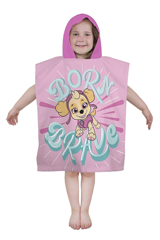 Paw Patrol 'Pastels' Poncho Towel