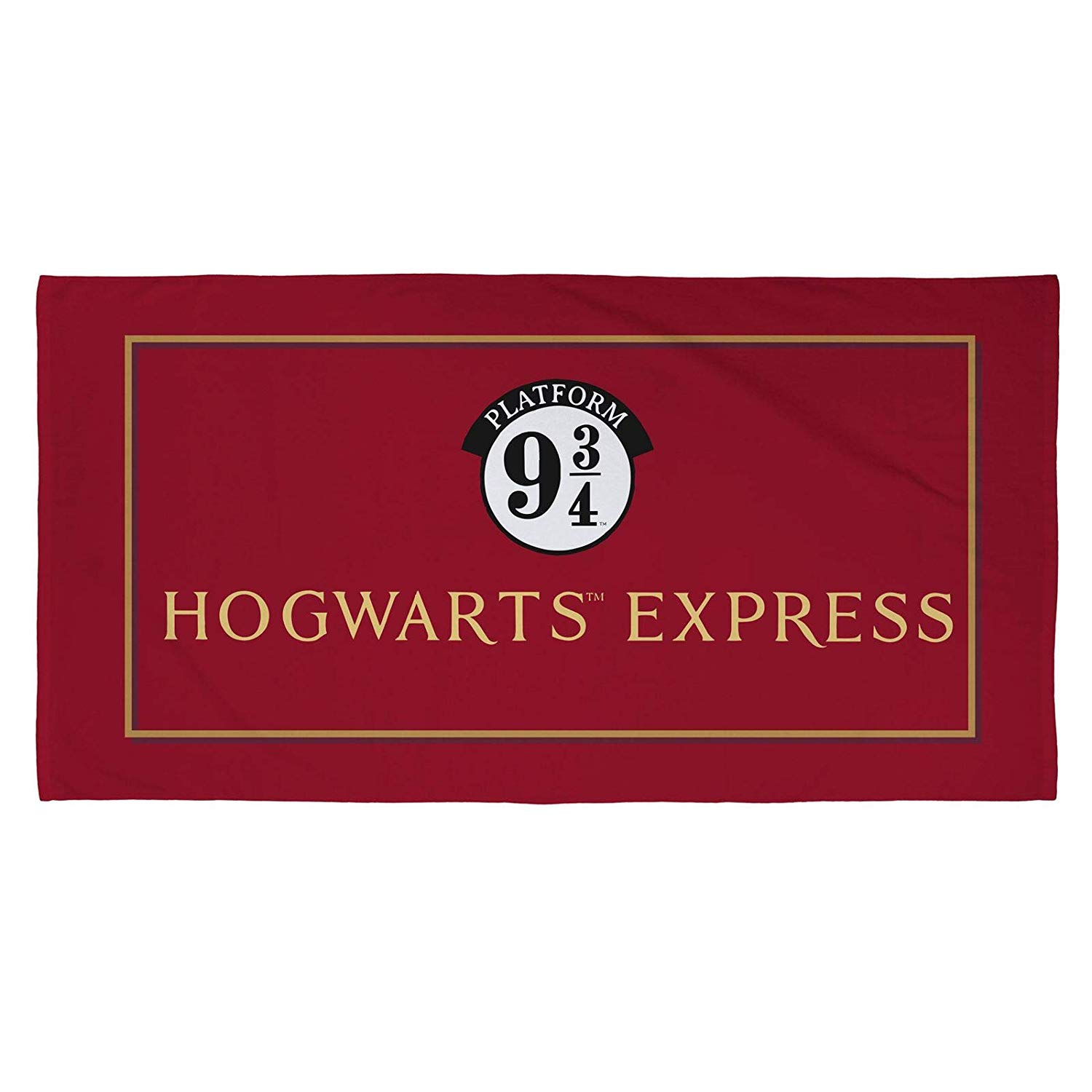 Harry Potter Official Hogwarts Express Printed Beach Towel