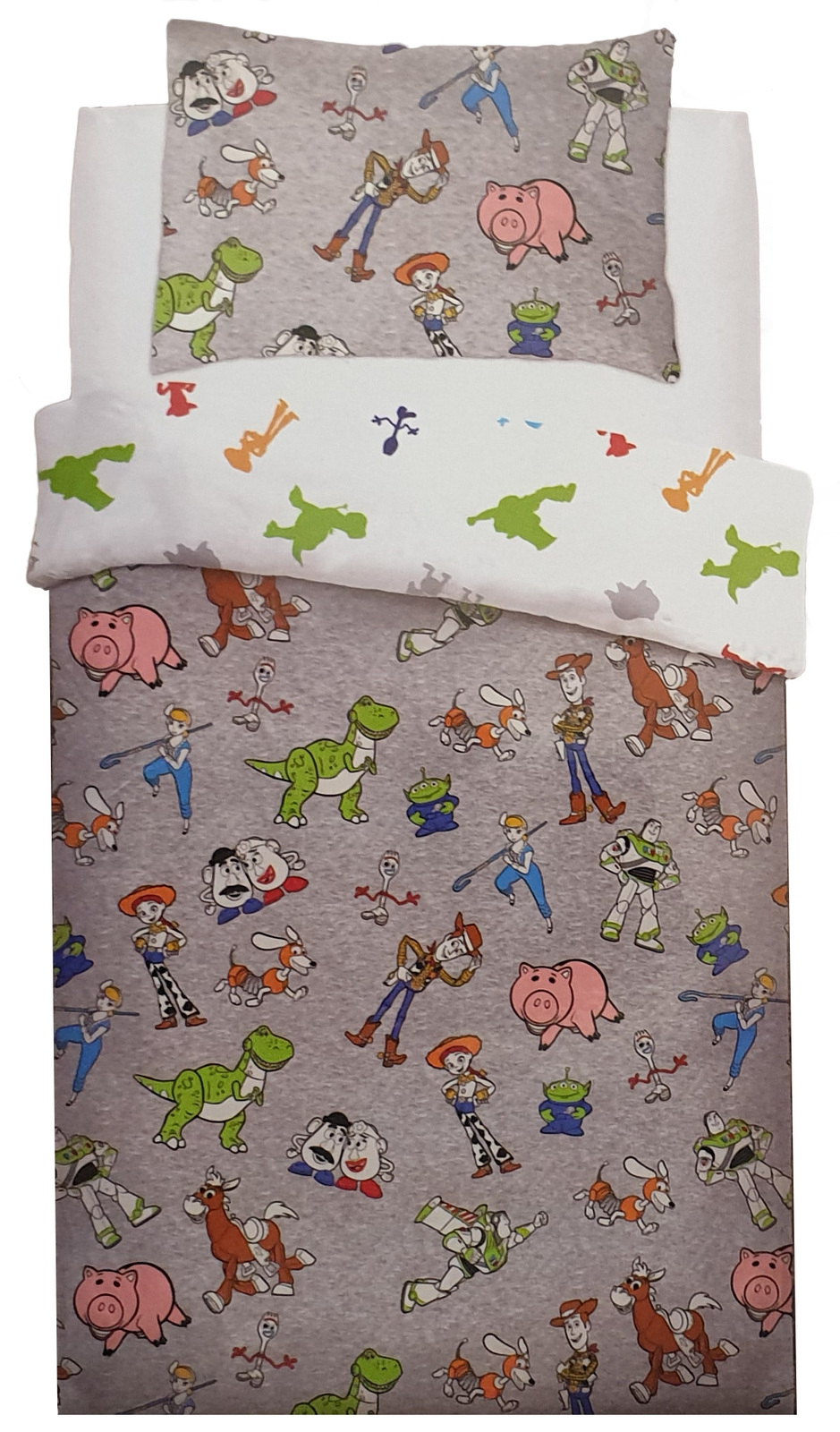 Disney Toy Story Are Back In Town Panel Single Bed Duvet Quilt Cover Set