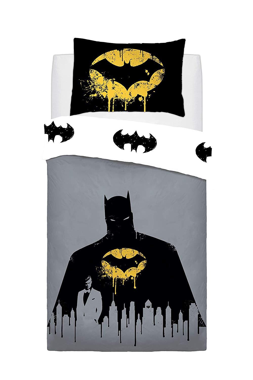 Batman Dark Knight Panel Single Bed Duvet Quilt Cover Set