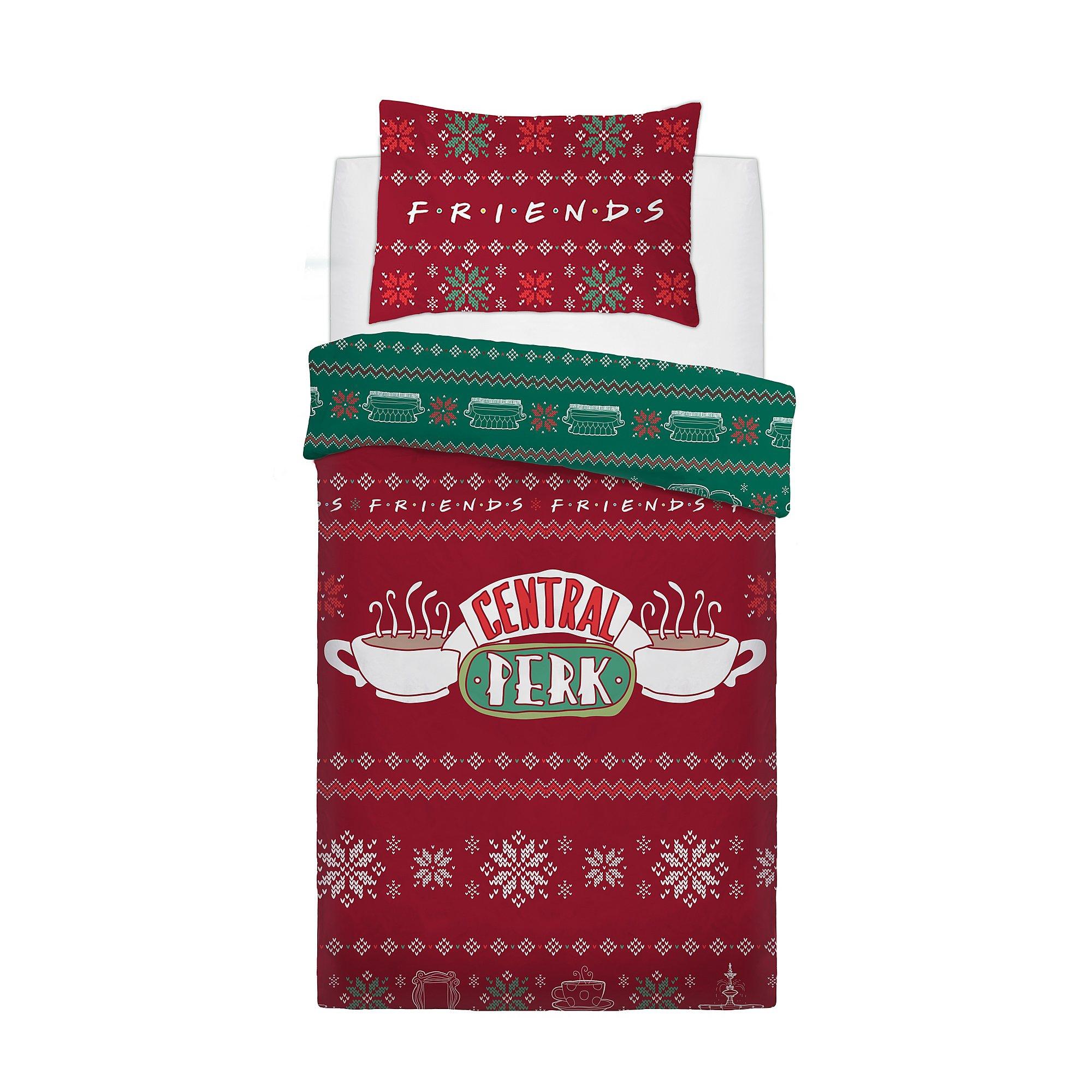 Friends Sweater Panel Single Bed Duvet Quilt Cover Set