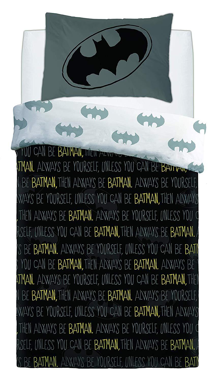 Batman Forever Panel Single Bed Duvet Quilt Cover Set