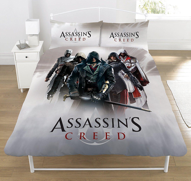 Assassins Creed 'Montage' Panel Double Bed Duvet Quilt ...