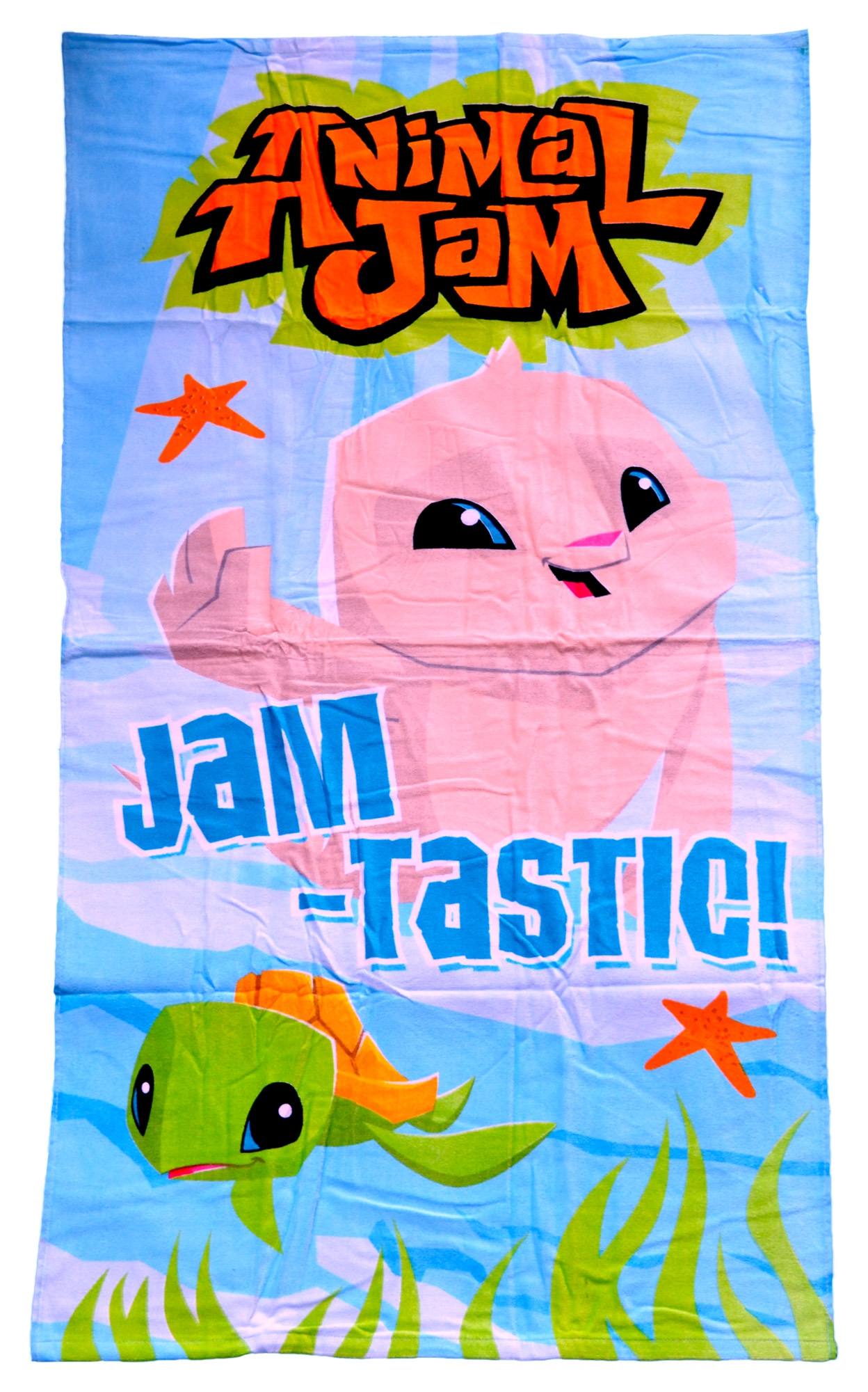Animal Jam 'Jamtastic' Printed Beach Towel