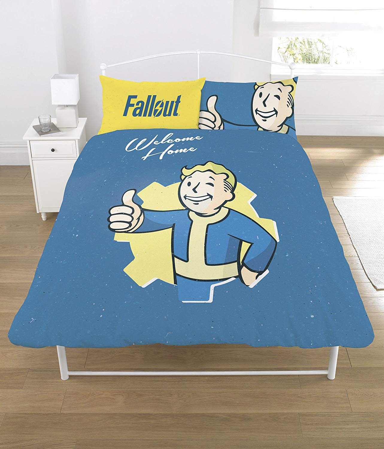 Fallout Polycotton Panel Double Bed Duvet Quilt Cover Set
