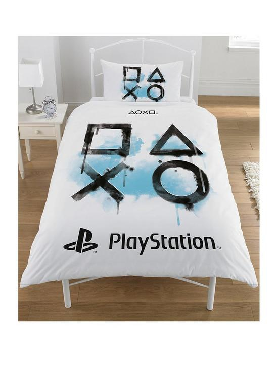 Sony Playstation Panel Single Bed Duvet Quilt Cover Set