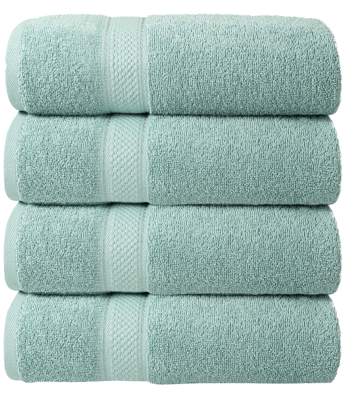 Bale Set 4pcs Duck Egg Plain Hand Towel