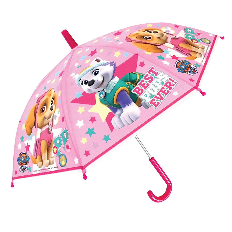 Paw Patrol Pink School Rain Brolly Umbrella