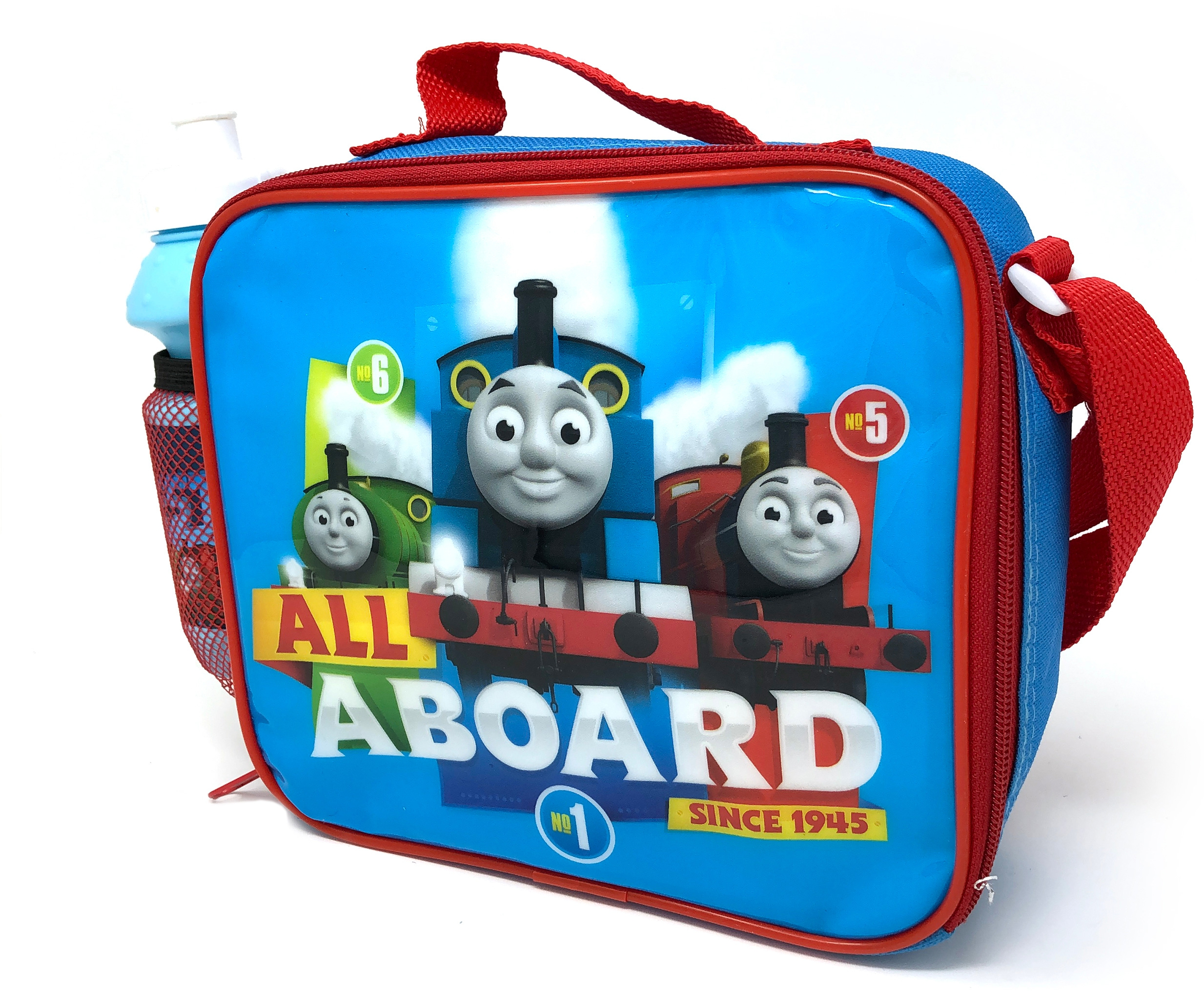 Thomas All Aboard School Lunch Bag with Bottle