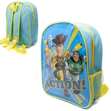 Toy Story with Mesh Side Pocket School Bag Rucksack Backpack