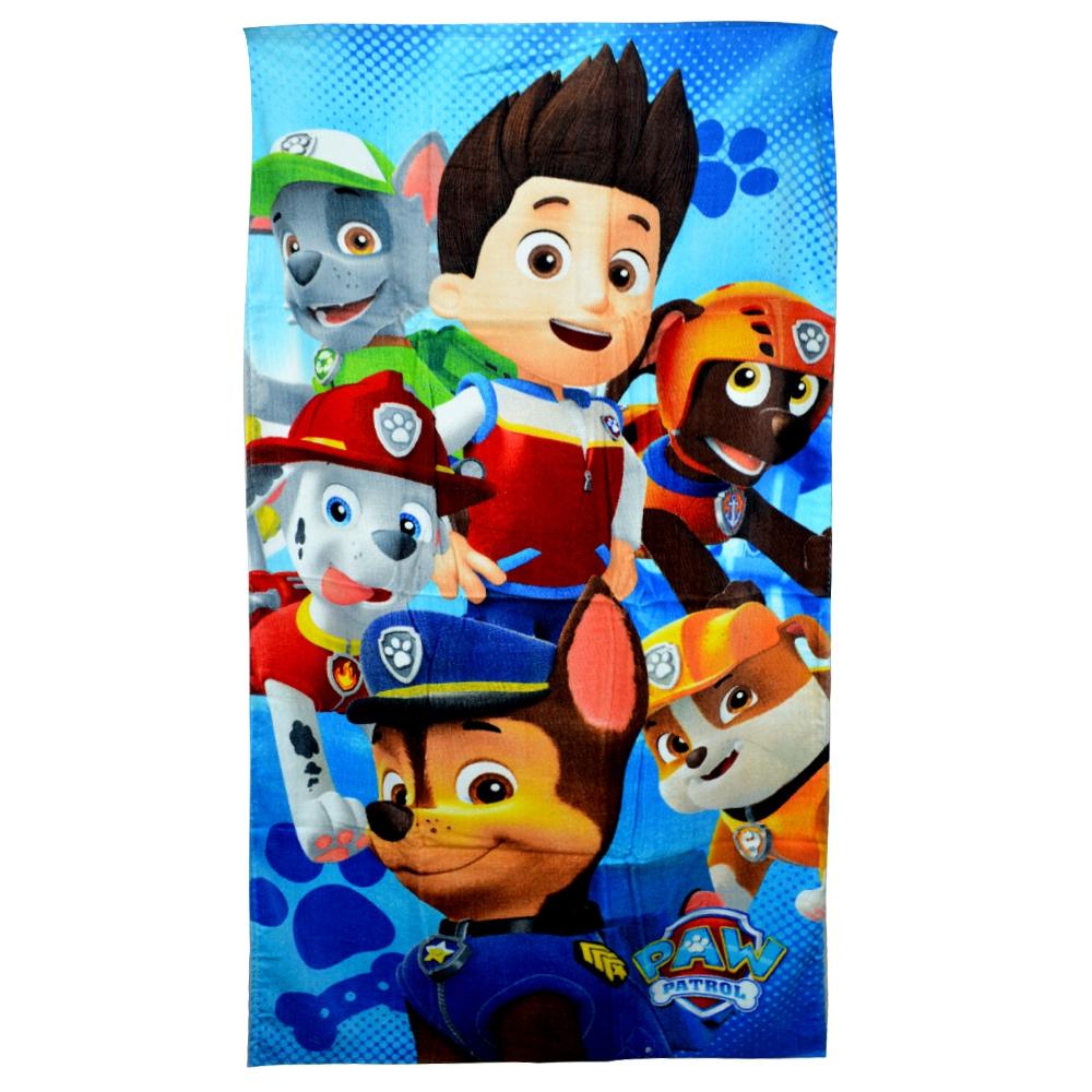 Personalized Paw Patrol Beach Towel: Paw Patrol Boys 'Squad' Printed Beach Towel 5991328208092