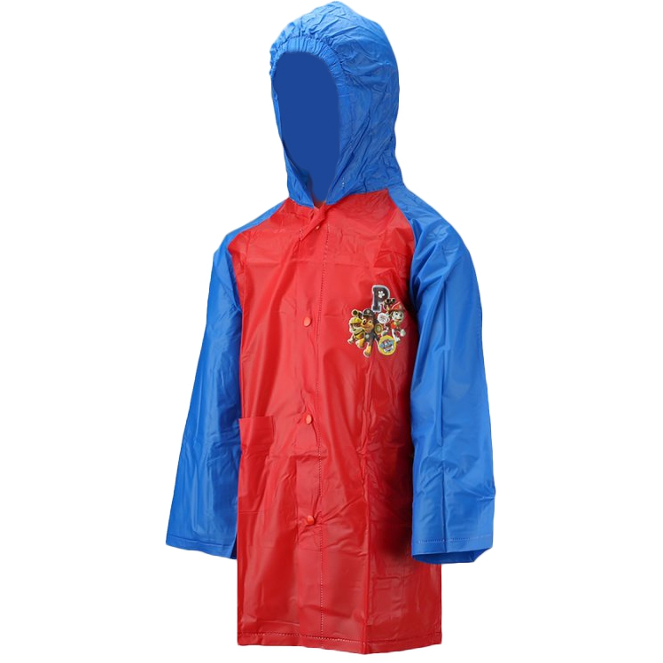 Paw Patrol Red Kids 2-6 Years Raincoat