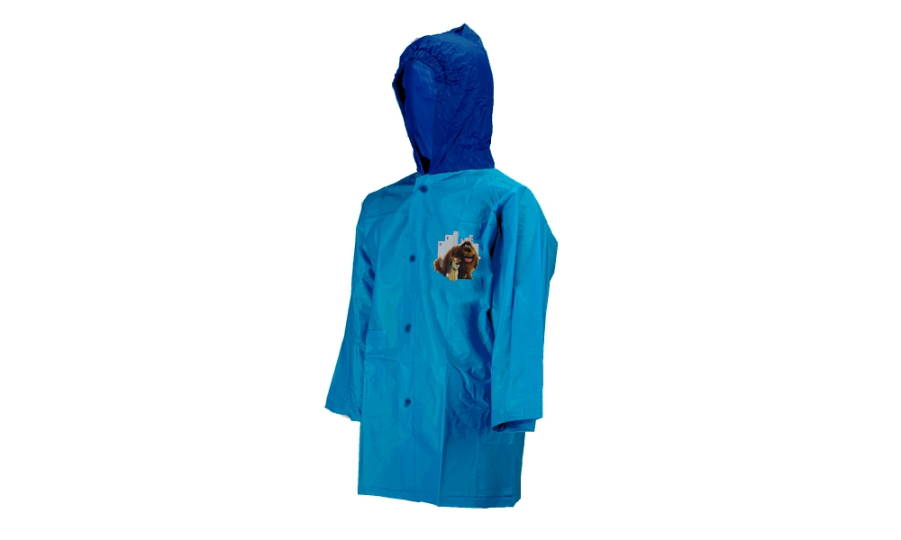 The Secret Life of Pets Light Blue 6 Year Raincoat