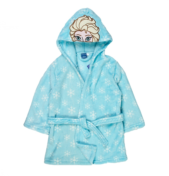 Frozen \'Elsa\' Girls 2-9 Years Sky Blue Dressing Gown 8438516175837