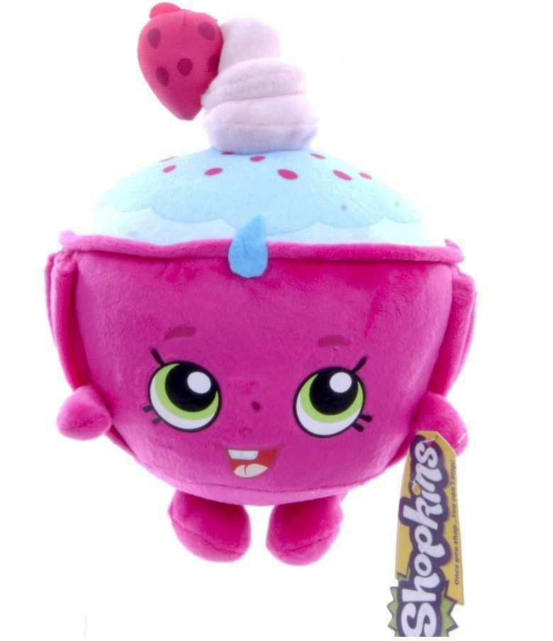 Shopkins Cupcake Chic 8 Inch Plush Soft Toy 8438517746616