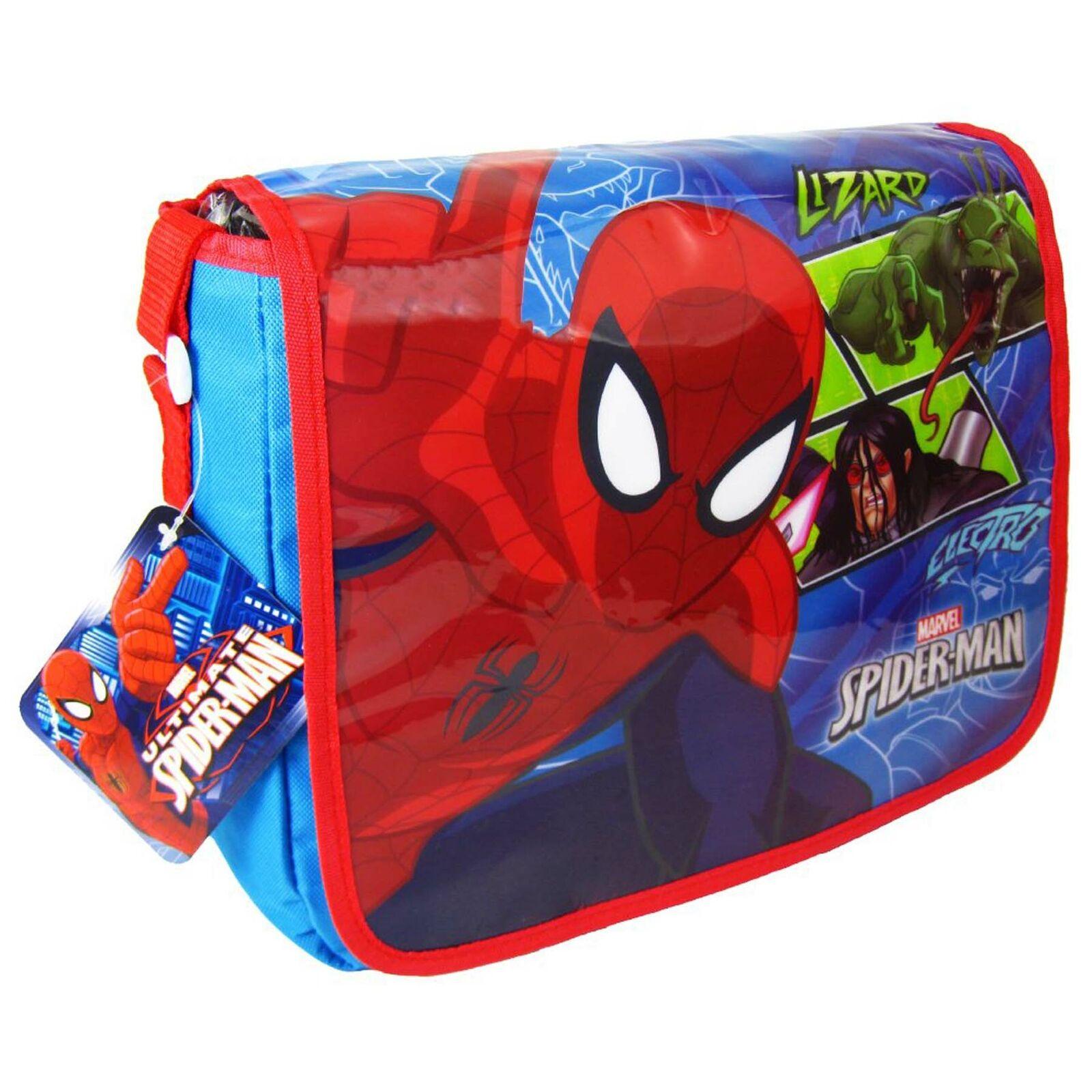 Marvel Ultimate Spiderman Kids School Despatch Bag