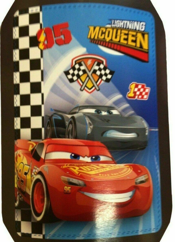Disney Pixer Cars 3 Lightning Mcqueen Panel Fleece Blanket Throw