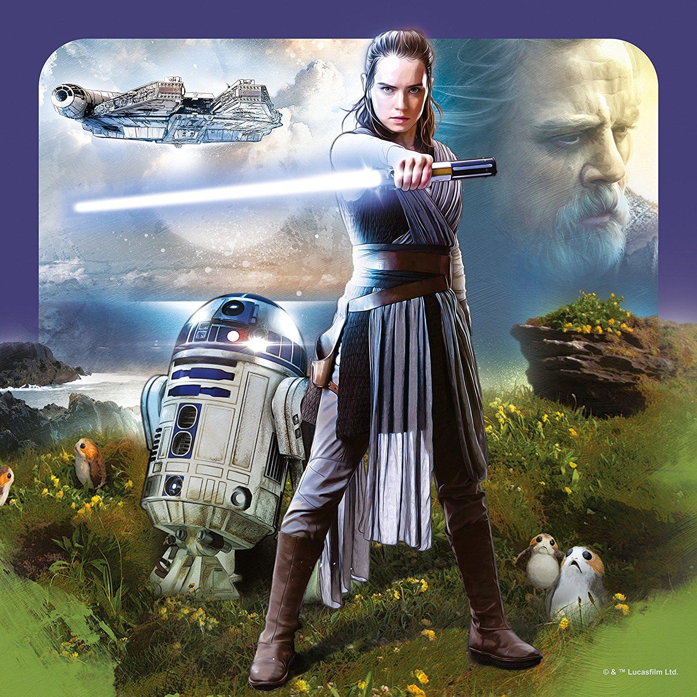 Disney Star Wars 'The Last Jedi' 3x49 Piece Jigsaw Puzzle Game