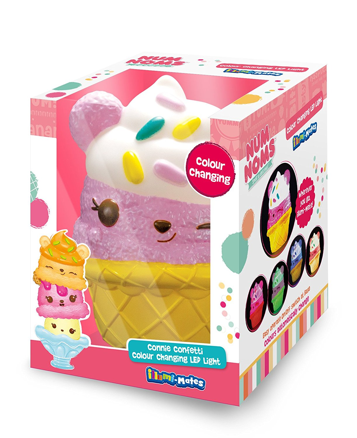Num Noms 'Connie Confetti' Illumi-mates Led Light