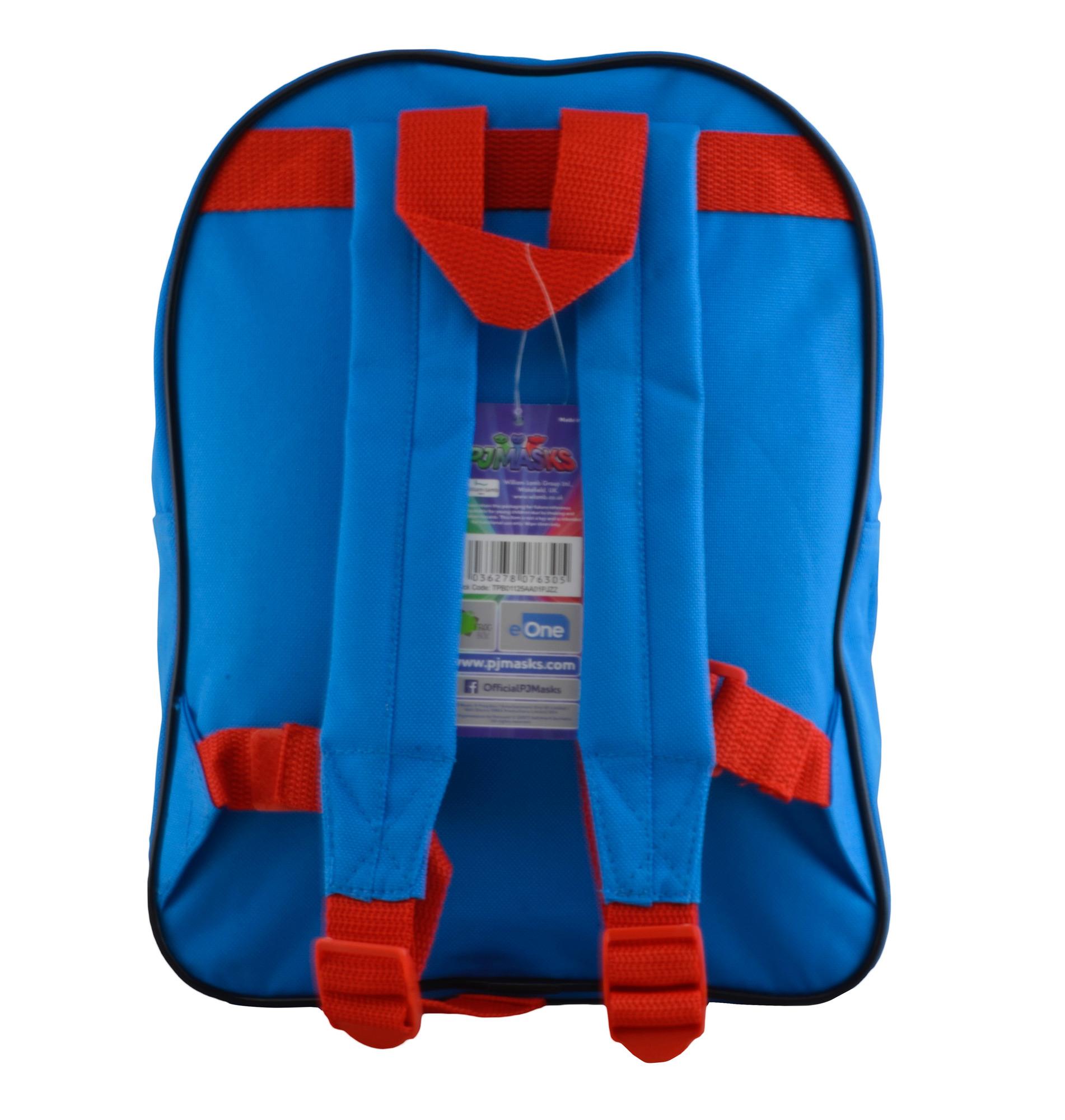 Pj Masks Comics Arch Pocket School Bag Rucksack Backpack
