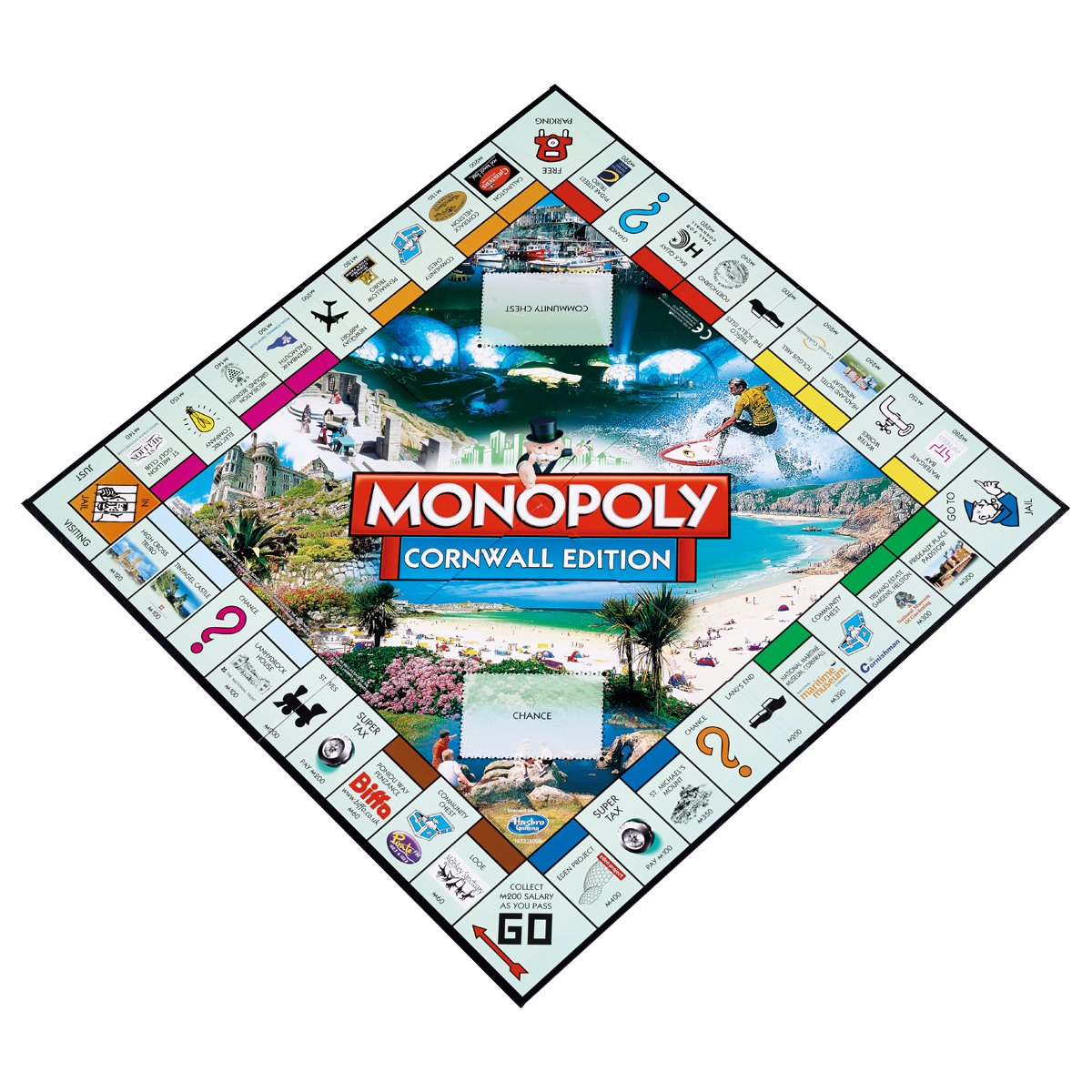 Cornwall Monopoly Board Game