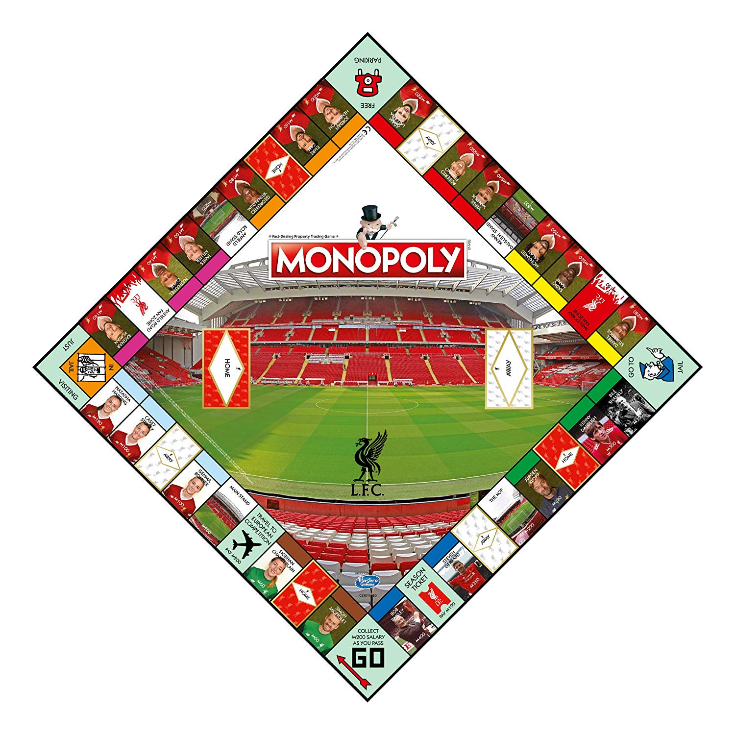 Liverpool Fc Monopoly Football Board Game Official