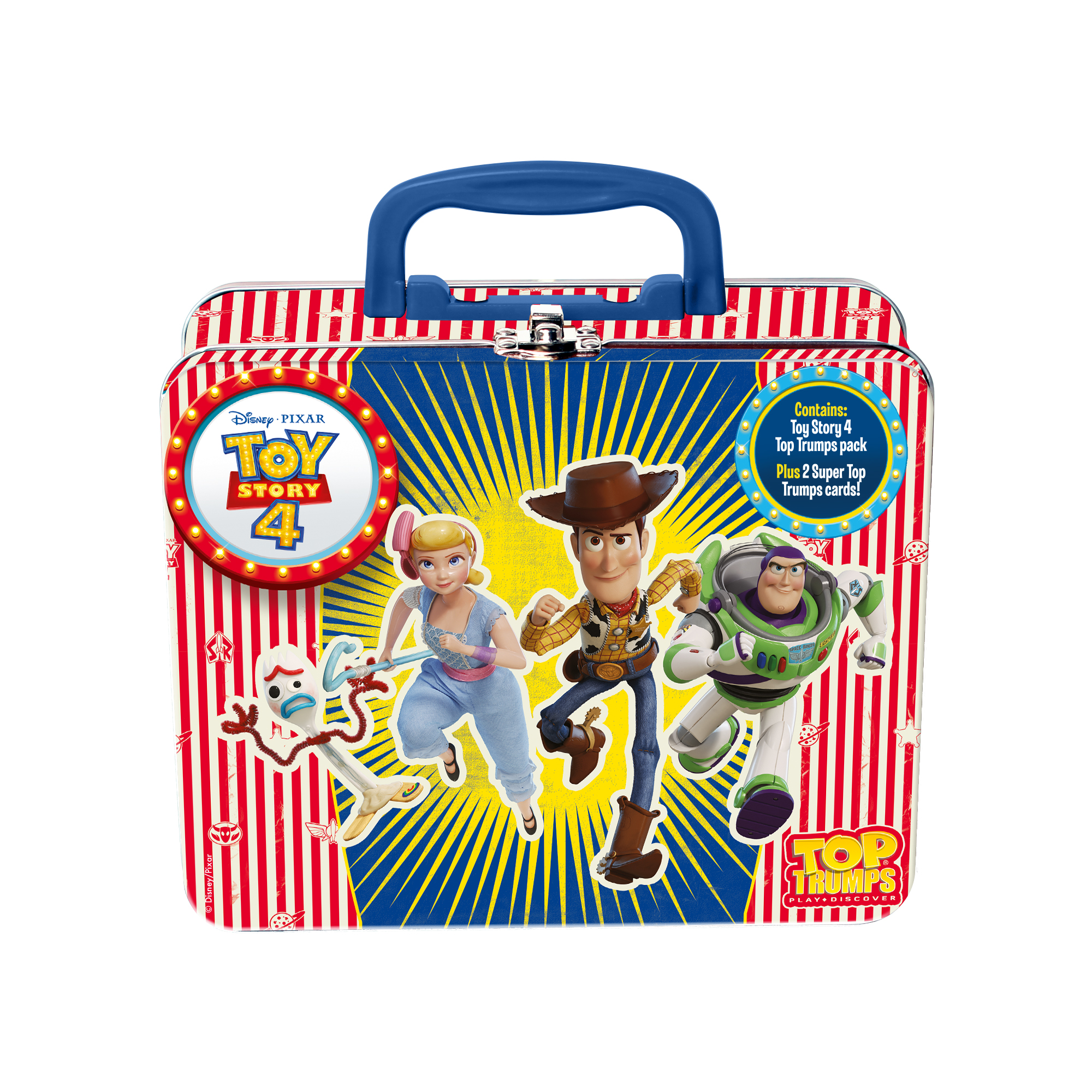 Disney Toy Story 4 Tin Collectors Card Game
