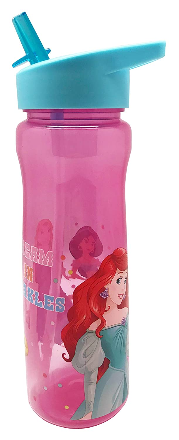 Princess Sparkly Pink 600ml Aruba Water Bottle